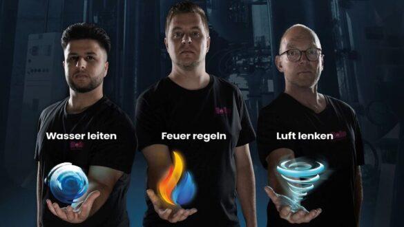 Team der starken Hände