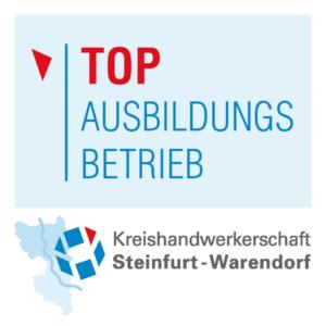 Die Bolte KG ist TOP Ausbildungsbetrieb der Kreishandwerkerschaft Steinfurt-Warendorf