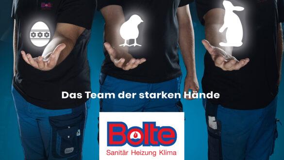 Das Team der starken Hände wünscht eine frohe Osterzeit