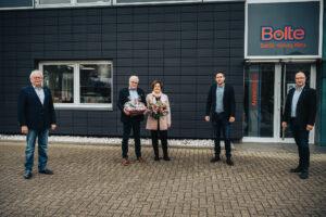 Geschäftsführerwechsel bei der Bolte KG in Rheine